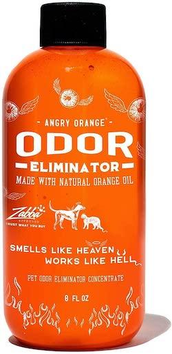 Angry Orange Pet Odor Eliminator