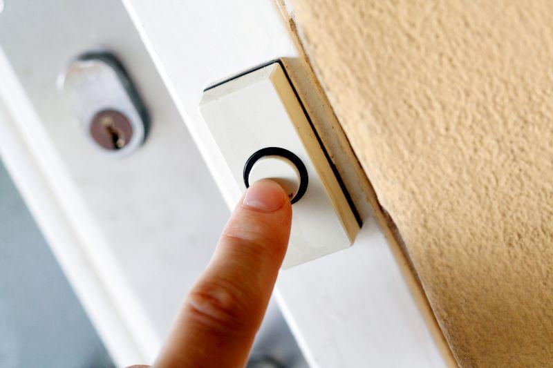 dogs often bark at doorbells