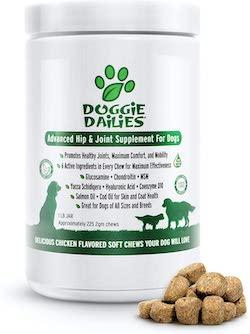 Doggie Dailies Advanced Hip & Joint Supplements