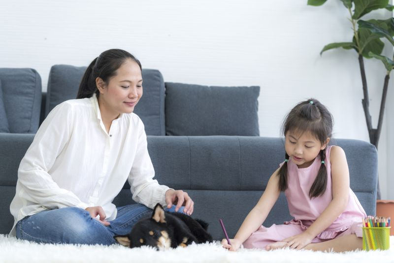 family dog contracts for young kids