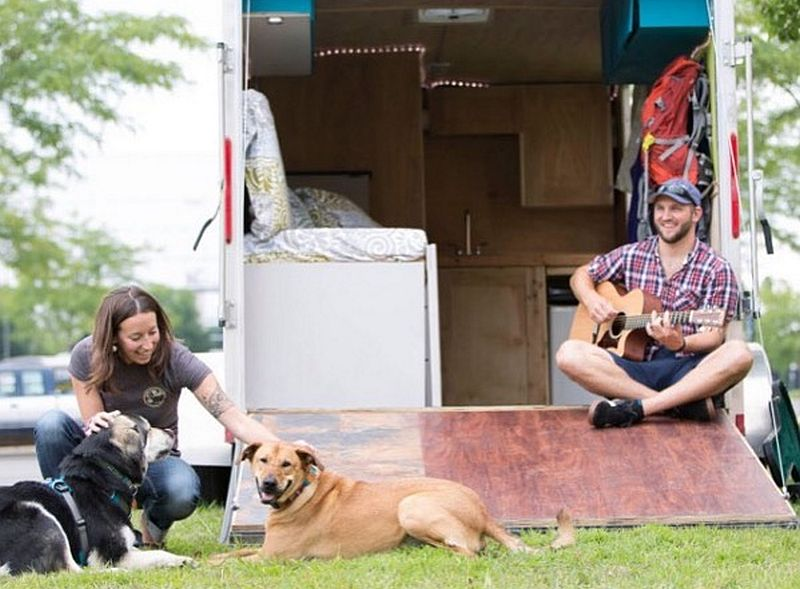 make good use of outdoor space with dogs
