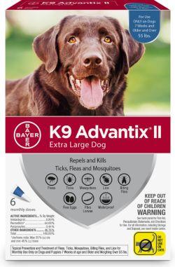 K9 Advantix II for Mosquitos