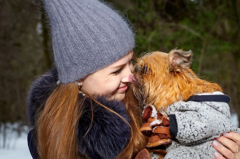 Brussels Griffons are really affectionate doggos