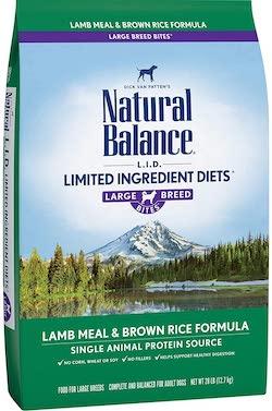 Natural Balance L.I.D Food