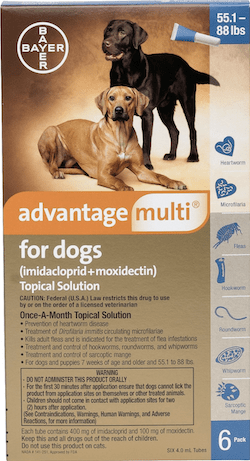 Advantage Multi Topical Solution
